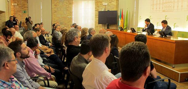 La Diputación de Jaén y la Junta de Andalucía abordan nuevas líneas de promoción del oleoturismo jiennense