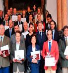 La Diputación de Córdoba entrega los premios del VII Concurso Provincial de AOVEs