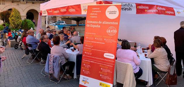 El MAPA difunde los valores de la Dieta Mediterránea en la Semana de Alimentos de España