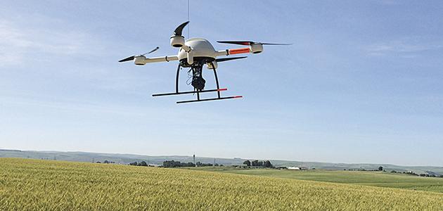 La revolución dron llega al olivar