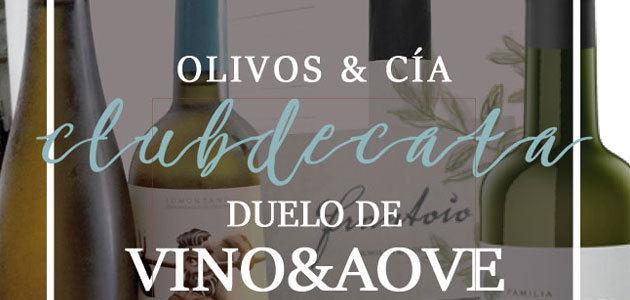Duelo Vino&AOVE, el desafío propuesto por la Escuela Europea de Cata