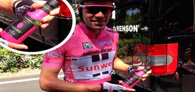 Finca Duernas, proveedor oficial del AOVE del ganador del Giro de Italia