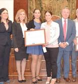 Finca La Reja recoge el premio ECOTrama 2014 en el marco de BIOCórdoba