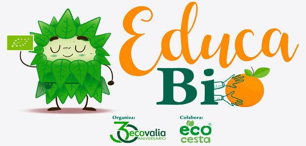 Ecovalia y Ecocesta lanzan la tercera edición del programa escolar EducaBio
