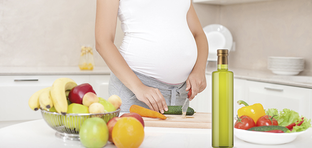 Los beneficios de la Dieta Mediterránea y el AOVE durante el embarazo