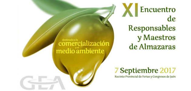 Profesionales del sector oleícola se darán cita este jueves en el XI Encuentro de Maestros y Responsables de Almazara de GEA