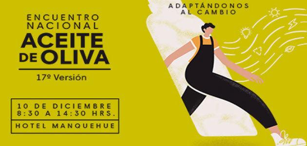 Chile celebrará el 10 de diciembre su 17º Encuentro Nacional de Aceite de Oliva