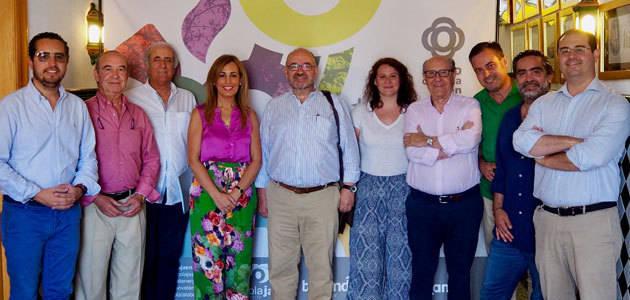Ensayan una explotación piloto de olivar resistente al verticillium en Baeza (Jaén)