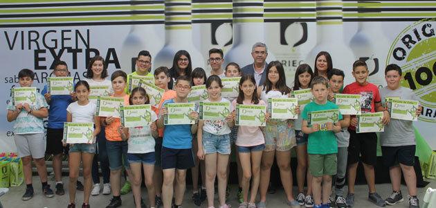 Más de 30 niños se forman en análisis sensorial en la Escuela de Cata Infantil de la DOP Priego de Córdoba