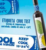Basilippo crea una etiqueta termocrómica que controla la temperatura del AOVE en la botella