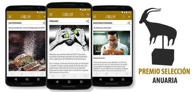 La app EVOOLEUM se alza con el premio