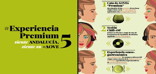 Citoliva organiza una cata de aceite de oliva para personas con discapacidad visual