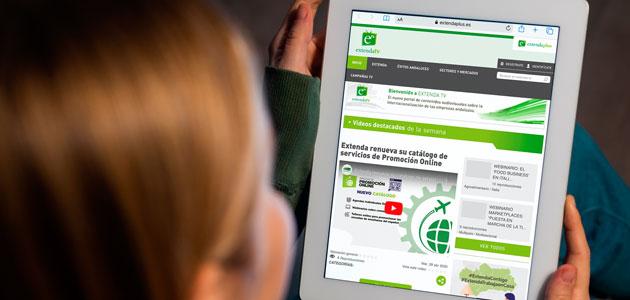 Webinars y Extenda TV, más iniciativas on line de ICEX y Extenda por el COVID-19