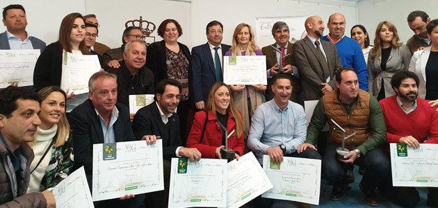 AOVEs de Eljas, Majadas, Miajadas y Fuente del Maestre obtienen los primeros premios de