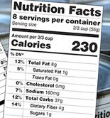 La FDA crea una nueva etiqueta de información nutricional para los alimentos envasados comercializados en EEUU