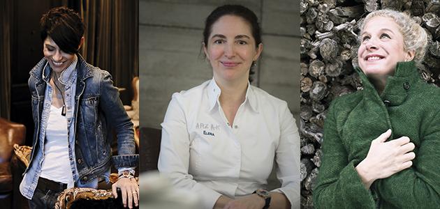 Dominique Crenn, Elena Arzak y Ana Ros: 'Las chefs del AOVE'