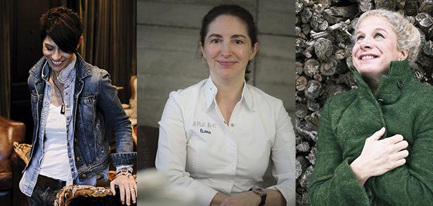 Dominique Crenn, Elena Arzak y Ana Ros: