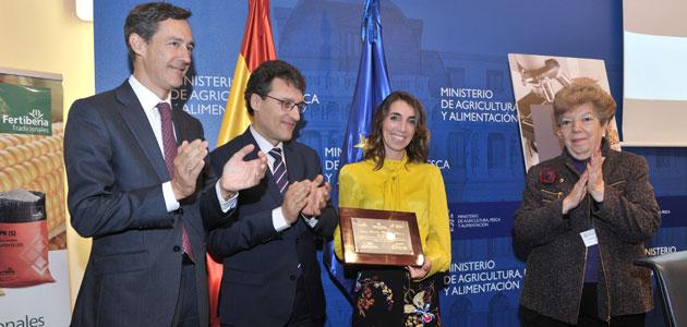Una tesis sobre la absorción de hierro y fósforo por las plantas recibe el XX Premio Fertiberia