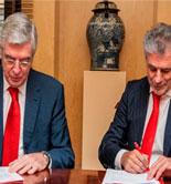 Banco Santander se incorpora como colaborador del marco estratégico para la industria alimentaria