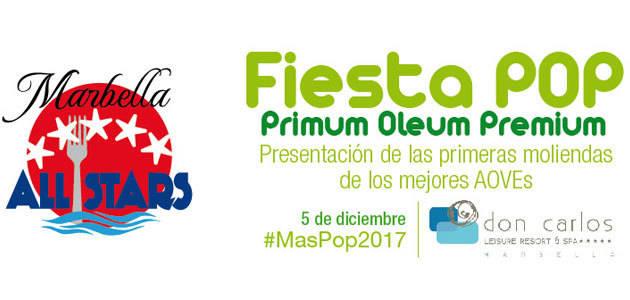 Málaga acogerá en diciembre la Fiesta del Primer AOVE de Marbella All Stars