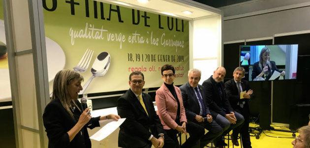 La 58ª Fira de l'Oli i les Garrigues se aplaza hasta febrero