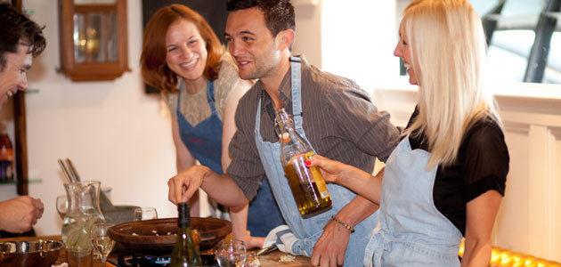 Food at 52 Cookery School: el AOVE y las aceitunas se adentran en las clases de cocina de Londres