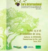 Las innovaciones en la cadena de producción del olivo, a debate en Perú