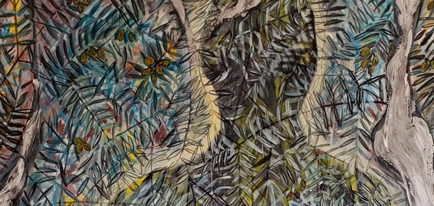 Arte entre olivos desde Brasil