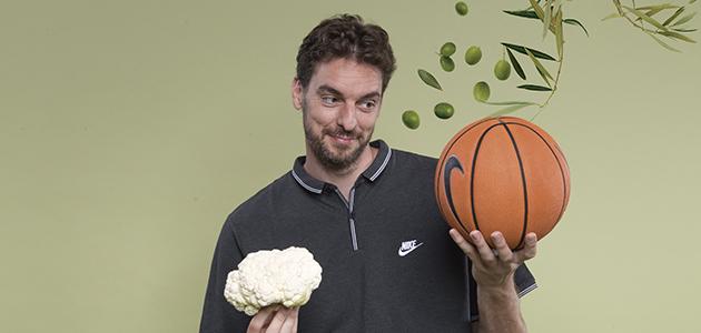 Pau Gasol: 'El concepto del aceite de oliva está muy presente en los jugadores de la NBA y en la cultura americana'
