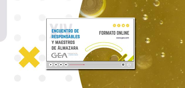 Novedosa puesta en escena del XIV Encuentro de Maestros y Responsables de Almazara de GEA
