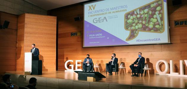 Profesionales de toda España y América Latina participan en el XV Encuentro de Maestros y Responsables de Almazara de GEA