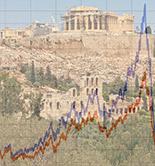 Grecia, altas temperaturas en un mercado congelado