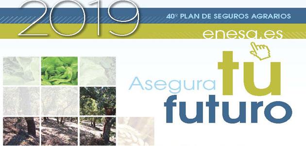 El MAPA publica la Guía del Seguro Agrario para el año 2019