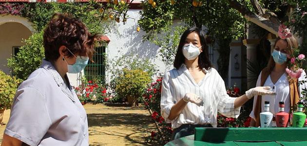 La Hacienda Guzmán retoma su actividad oleoturística