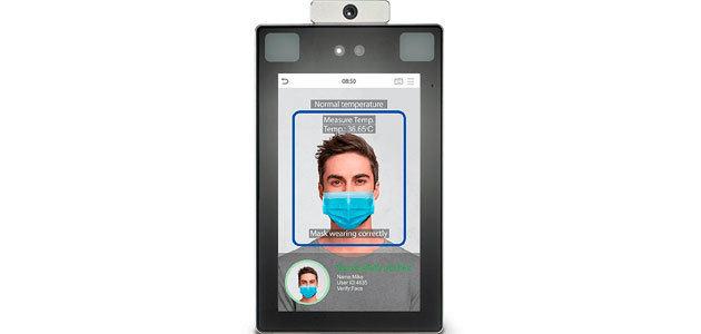 Hispatec presenta un nuevo sistema de control de acceso que detecta la mascarilla y la temperatura