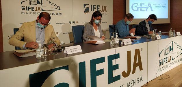 Expoliva vincula su imagen de marca con Agroisa, Balam Agriculture y GEA Iberia