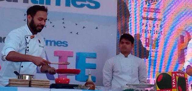 La aceituna de mesa se promociona en India