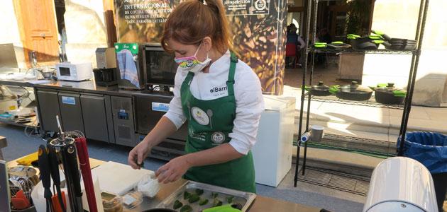 La chef Ingrid Serra gana el Premio Internacional de Cocina con AOVE