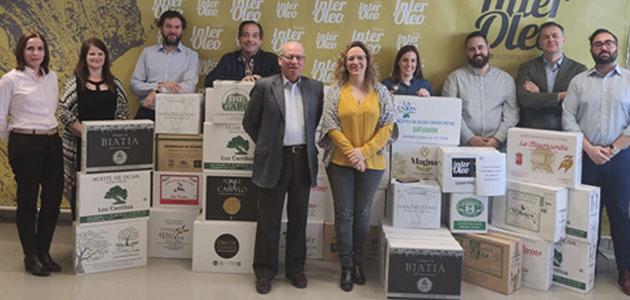 Grupo Interóleo entrega 754 litros de aceite de oliva al Banco de Alimentos