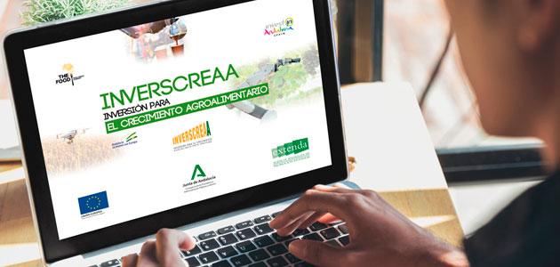 Inverscreaa, un proyecto piloto para atraer inversiones extranjeras de capital a las firmas agroalimentarias andaluzas