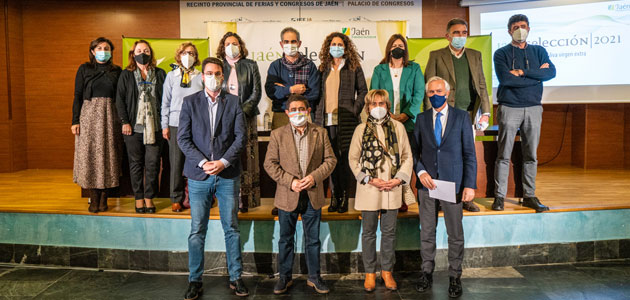 Estos son los ocho AOVEs que lucirán el sello 'Jaén Selección 2021'