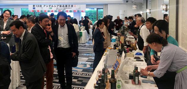 Agentes comerciales y profesionales japoneses conocen el AOVE y las aceitunas andaluzas