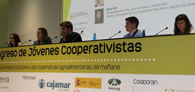 Unas explotaciones rentables y una PAC dirigida a los que se dedican a la actividad, prioridades de los jóvenes cooperativistas