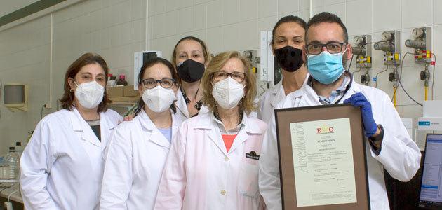 El laboratorio de Oleoestepa amplía su acreditación
