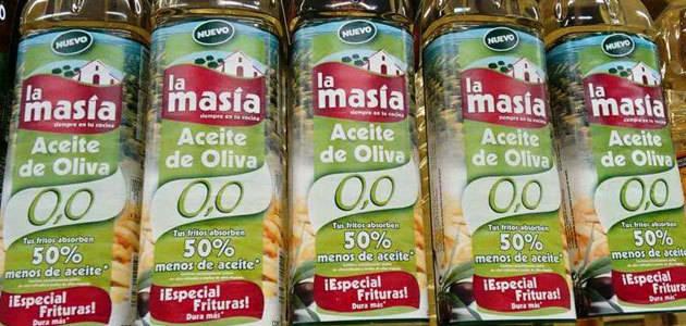 La Masía retira su aceite de oliva 0,0 tras la denuncia de Facua por el etiquetado