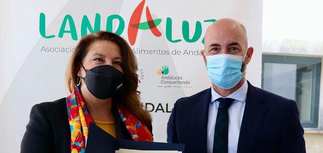 La Consejería de Agricultura y Landaluz analizan nuevas vías de promoción para los alimentos de Andalucía