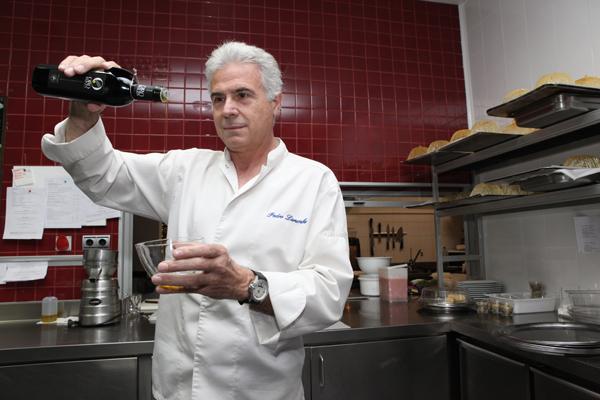 Pedro Larumbe, chef