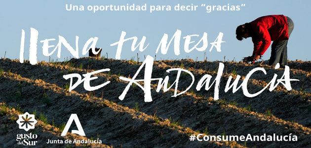 """""""Llena tu mesa de Andalucía"""", nueva campaña para la promoción de productos autóctonos"""