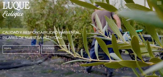 Tradición y modernidad se combinan en la renovada web de Luque Ecológico