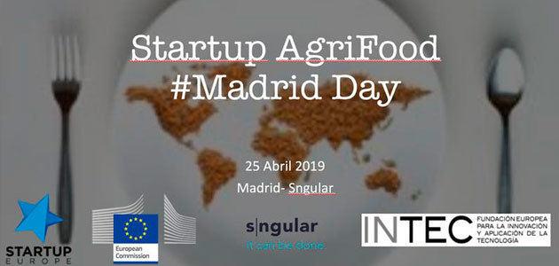 Startup AgriFood Madrid reunirá mañana a más de 120 startups y emprendedores